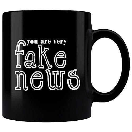 Amazon.com: You Are Very Fake News Mug, Funny Donald Trump Quote ... #blackCoffee