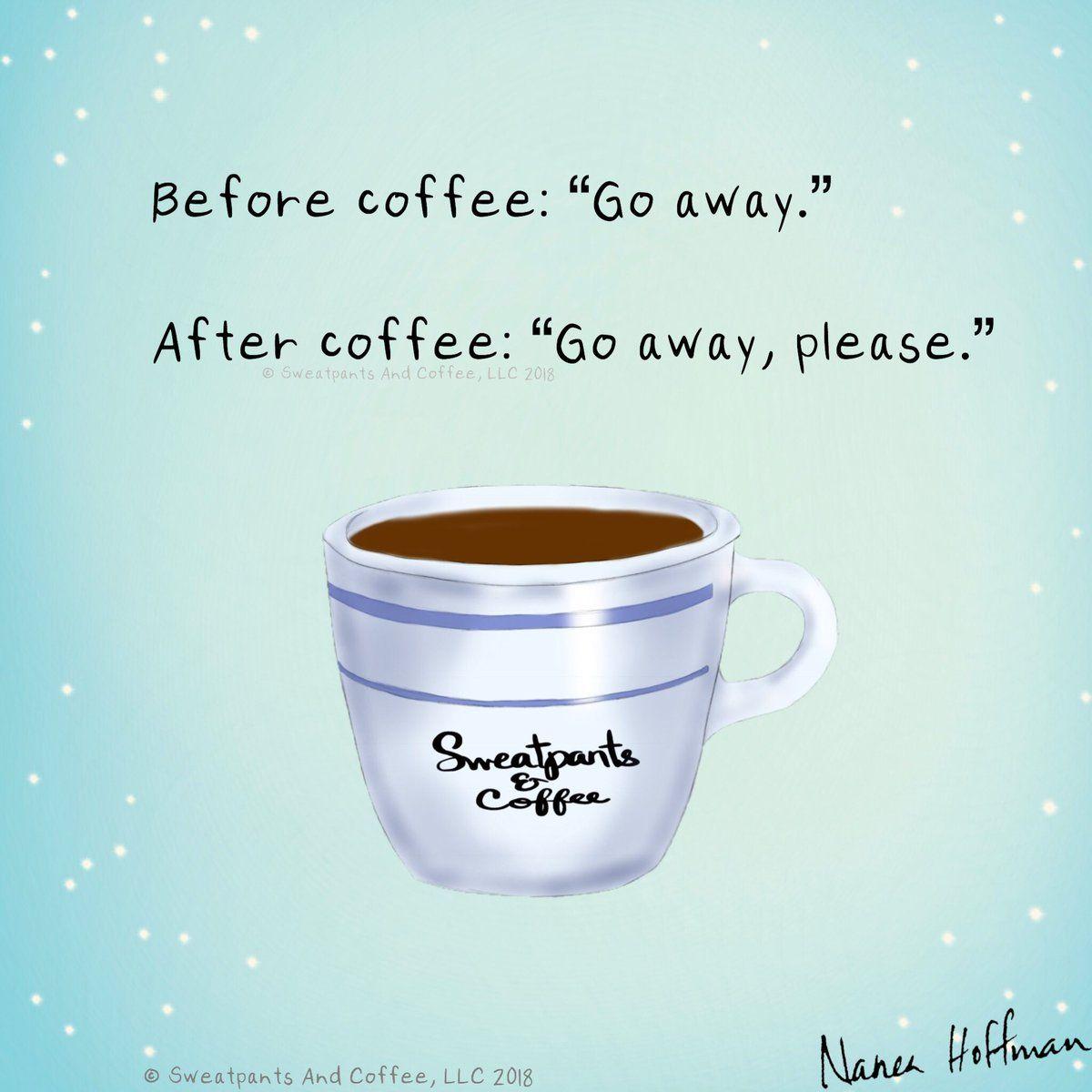Sweatpants & Coffee on in 2019 | Coffee Corner | Coffee, Coffee ... #iLoveCoffee