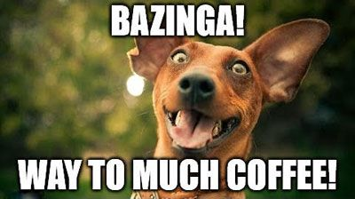 coffee #coffeehumor That face you make when you've had way too ... #tooMuchCoffee