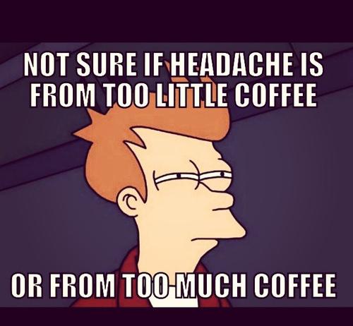 sleep, funny, quote, tired, story, school, headache, awake, fav ... #tooMuchCoffee