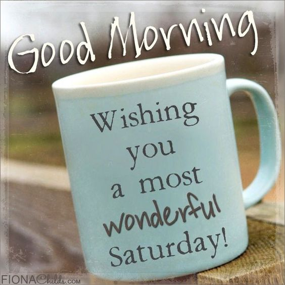 good morning Saturday! #saturdayCoffee