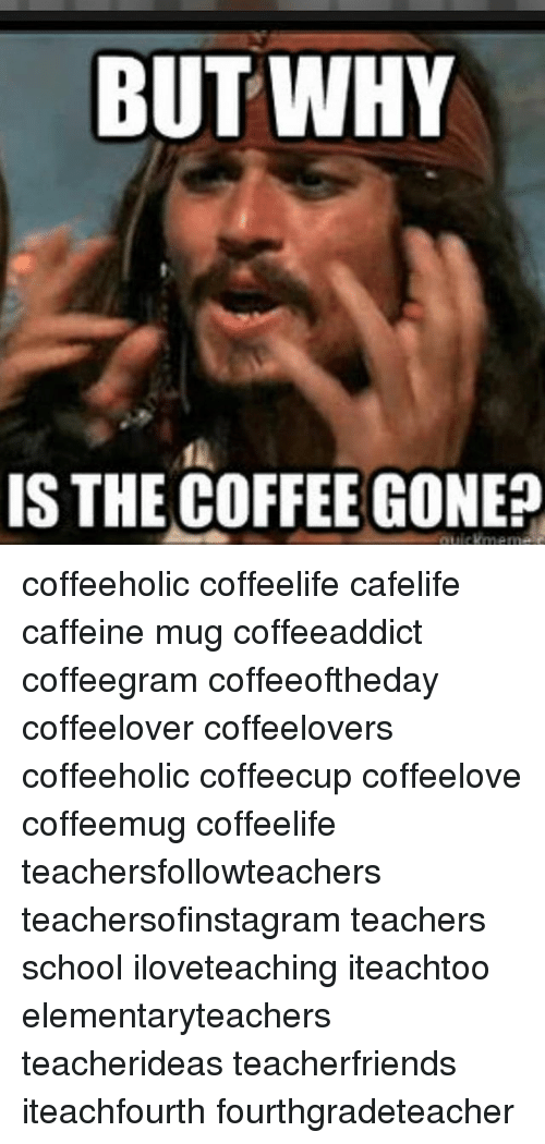 But WHY IS THE COFFEE GONEp Coffeeholic Coffeelife Cafelife ... #notEnoughCoffee