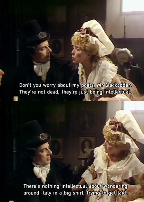 Blackadder - Mrs. Miggins Pie and Coffee Shop Owner | Blackadder ... #funnyCoffeeShop