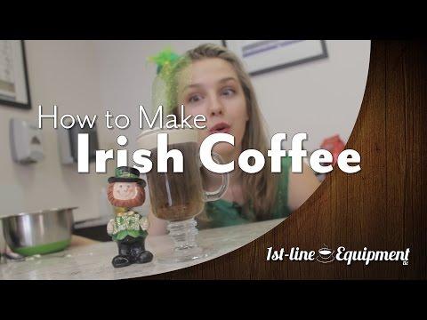 How to Make Irish Coffee | 1st-line.com #irishCoffee