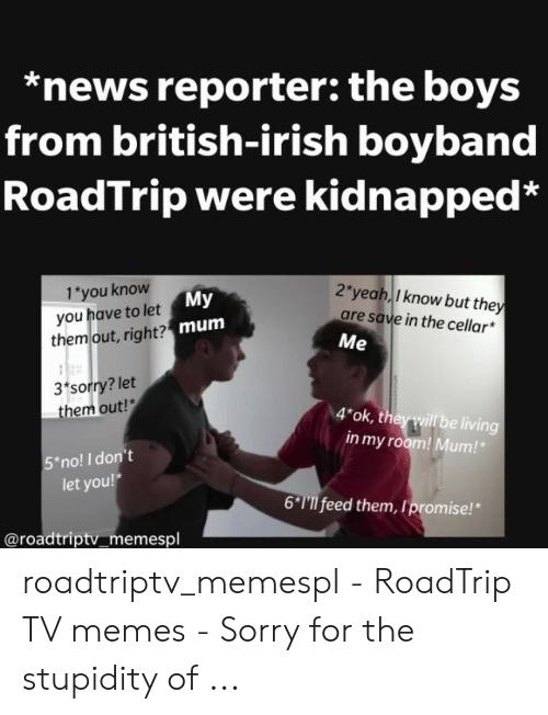 News Reporter the Boys From British-Irish Boyband RoadTrip Were ... #irishCoffee
