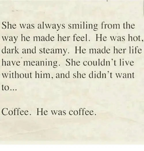 She Was Always Smiling From the Way He Made Her Feel He Was Hot ... #darkCoffee
