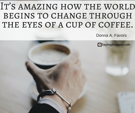 40 Funny Coffee Quotes and Sayings to Wake You Up | SayingImages.com #darkCoffee