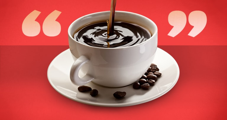 25 Quotes About Coffee from History's Most Caffeinated Thinkers ... #darkCoffee