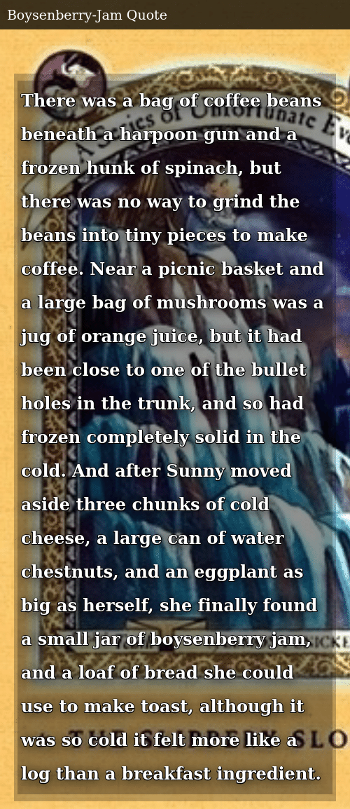 There Was a Bag of Coffee Beans Beneath a Harpoon Gun and a Frozen ... #coffeeBean