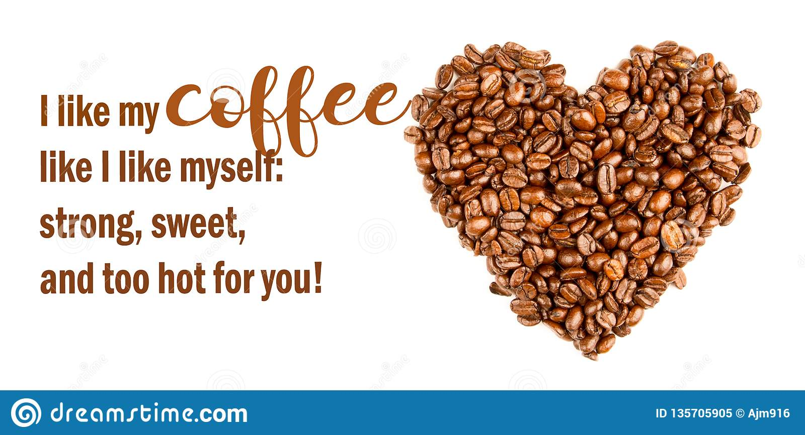 Funny Coffee Memes Sassy,Coffee Sweet As Love. Cool Quotes Stock ... #coffeeBean