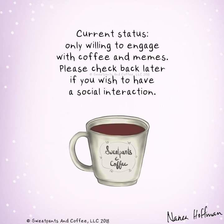 Coffee and memes | Coffee! in 2019 | Iced coffee, Coffee drinkers ... #coffeeBean