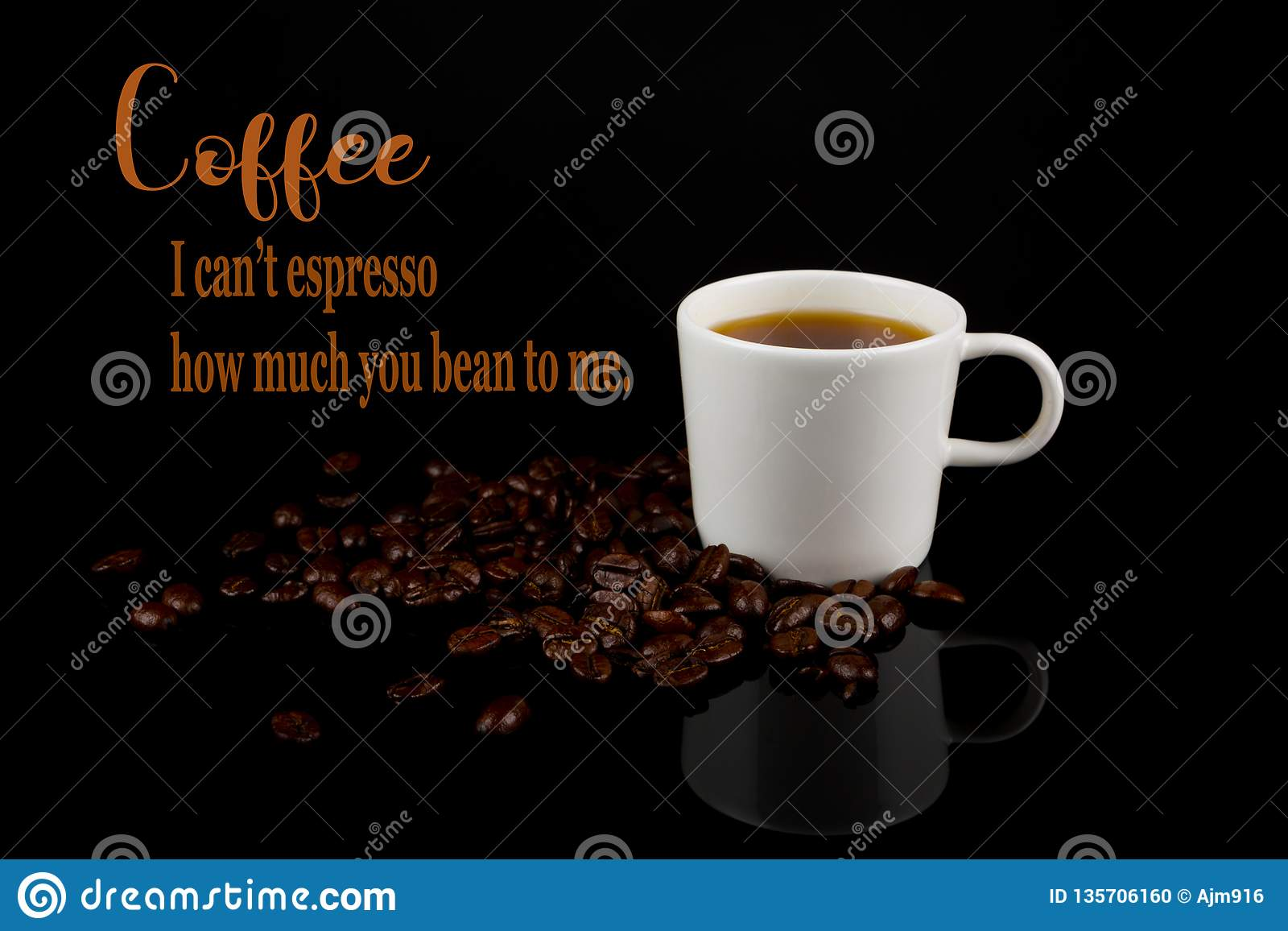 Funny Coffee Memes,`i Can`t Espresso How Much You Mean To Me ... #coffeeBean
