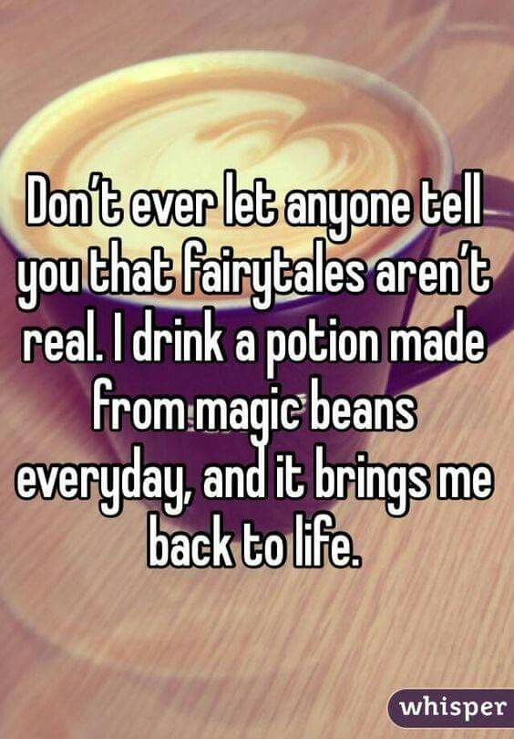 Magic beans! Yes, please! | Coffee Time in 2019 | Coffee humor ... #coffeeBean