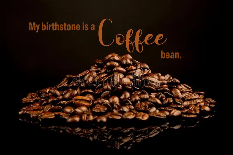 Funny Coffee Memes,black As Hell And Sweet As Love Stock Image ... #coffeeBean