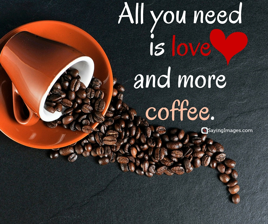 40 Funny Coffee Quotes and Sayings to Wake You Up | SayingImages.com #coffeeBean