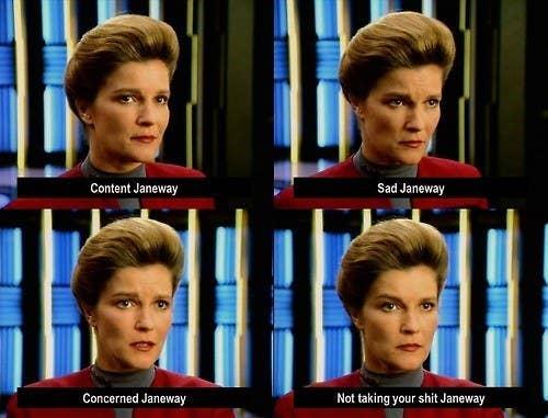 46 Times Captain Janeway Was Outta Control Sassy #coffeeBuzz