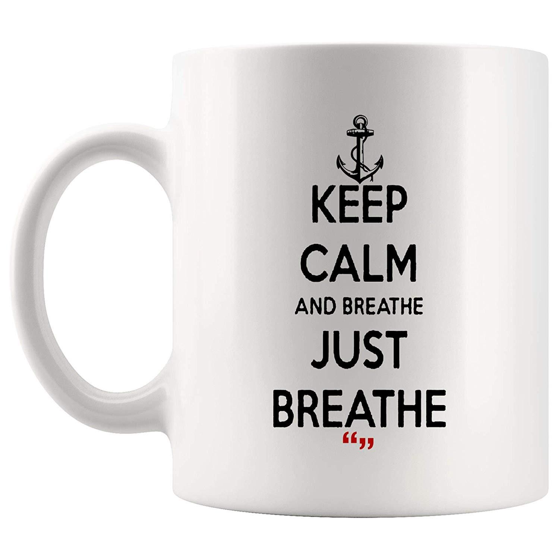 Amazon.com: Just Breathe Breath Life Air Hospital Emergency Doctor ... #coffeeBreath