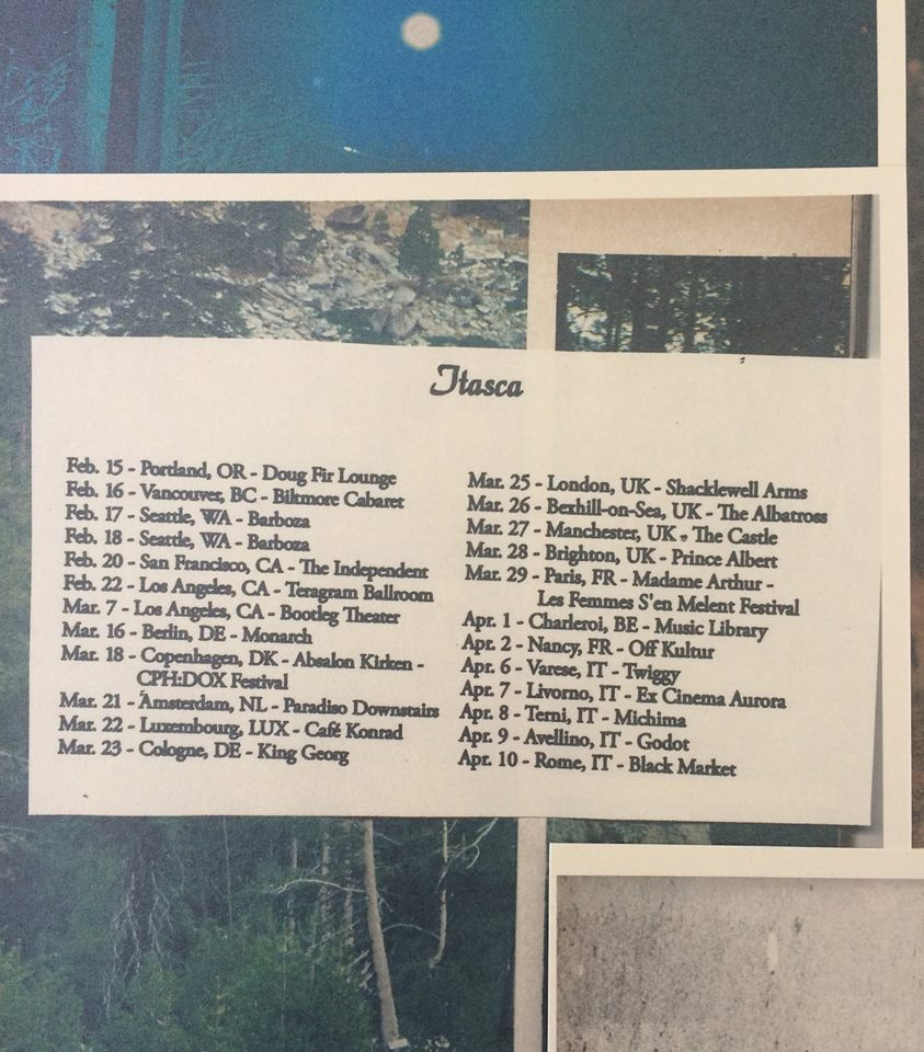 Itasca Embarks on UK/EU Tour. | Paradise of Bachelors #coffeeBreath