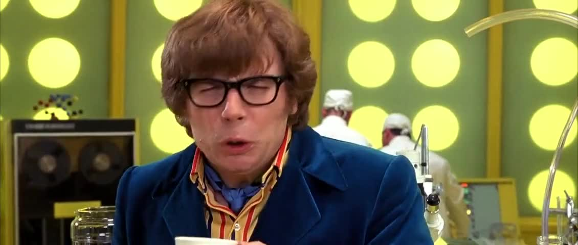 Yarn | Cor! This coffee smells like shit. ~ Austin Powers: The Spy ... #coffeeBreath