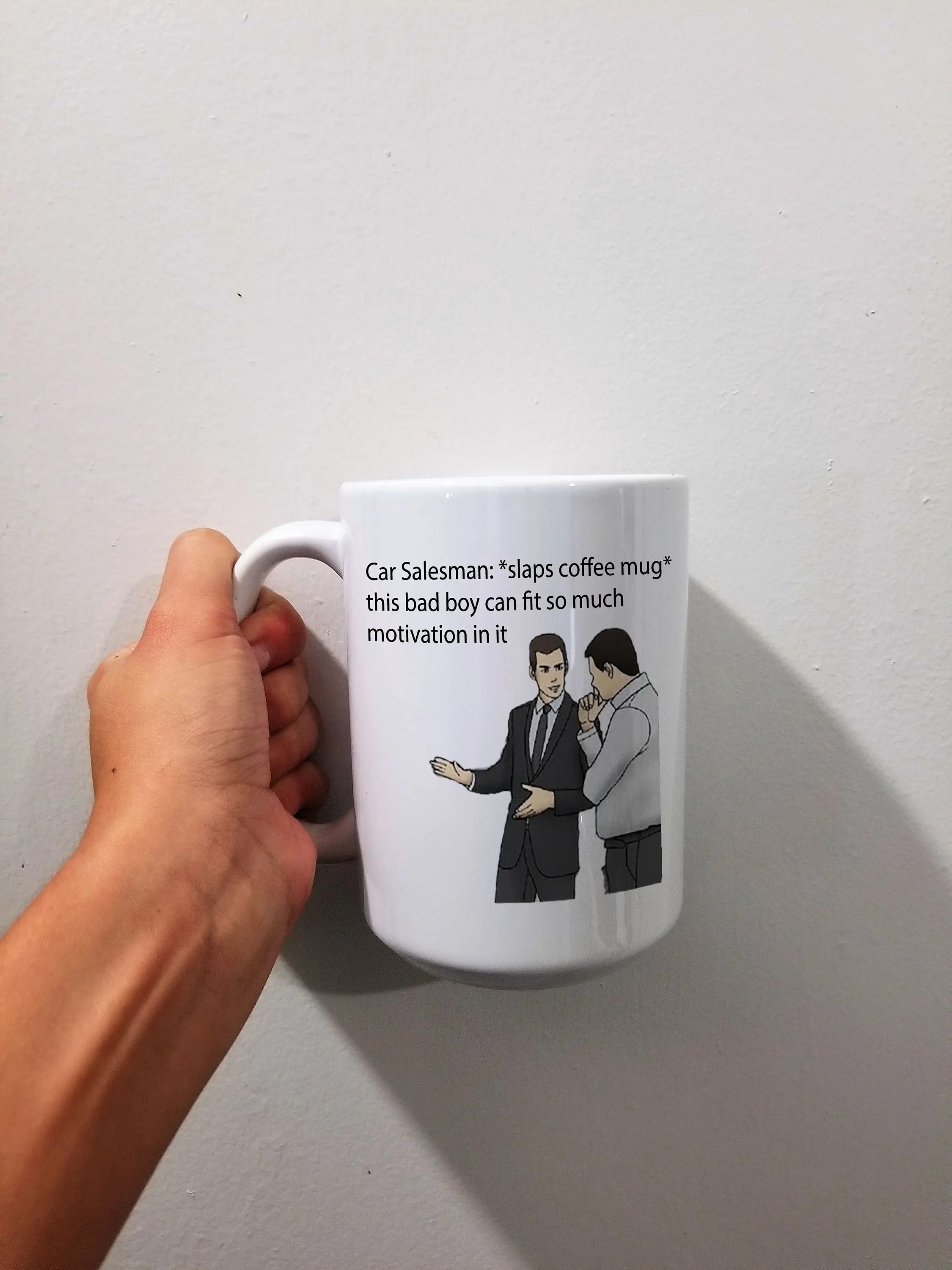 Car Salesman Meme Mug Funny Coffee Mug Meme Lover Gift Pop | Etsy #coffeeLovers