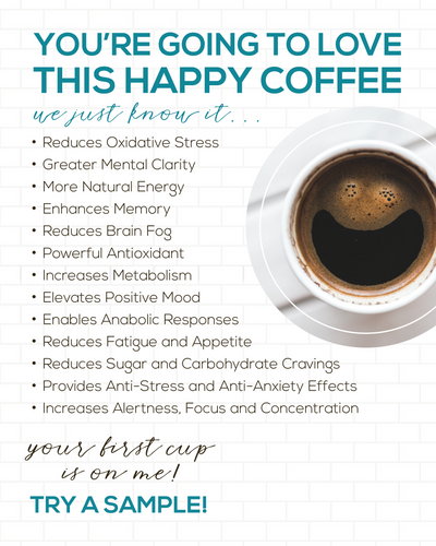HAPPY COFFEE w/ Elevacity | CBDForANewYou #happyCoffee