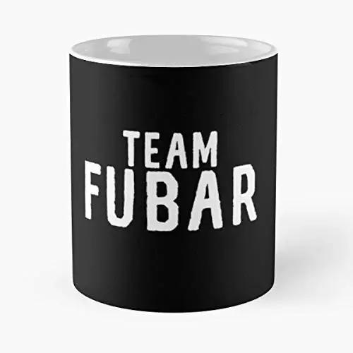 Amazon.com: Team Fubar Sarcastic Meme Quote Fucked Up Funny Floral ... #sarcasticCoffee