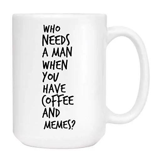 Amazon.com: Breakup Coffee & Memes Mug - Cute Sarcastic Funny Cup ... #sarcasticCoffee