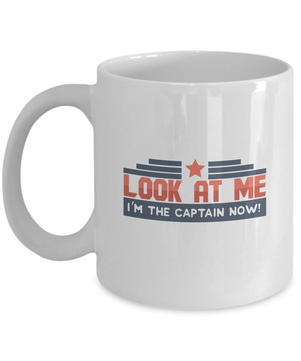 """Amazon.com: Candid Awe - Gifts For Meme Fanatics: """"Look At Me I'm ... #coffeeNow"""