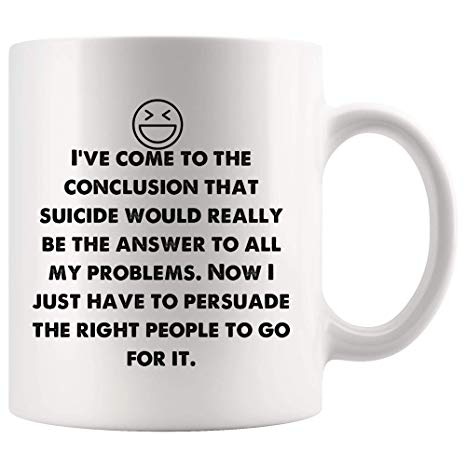 Amazon.com: Now I just persuade right people to go for it. Funny ... #coffeeNow