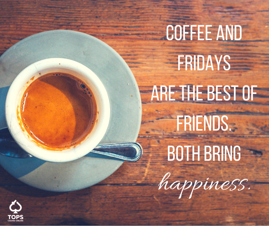 May your Friday be short and your coffee strong! #Coffee #Friday ... #strongCoffee