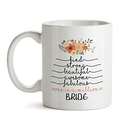 Amazon.com: Inspirational Gifts For Women - Bride Mug - B2 Cute ... #strongCoffee