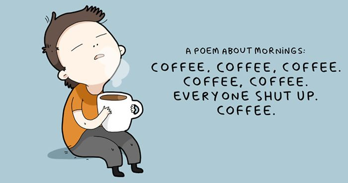 8 Cute Quotes About Coffee To Start Your Day Right | Bored Panda #strongCoffee