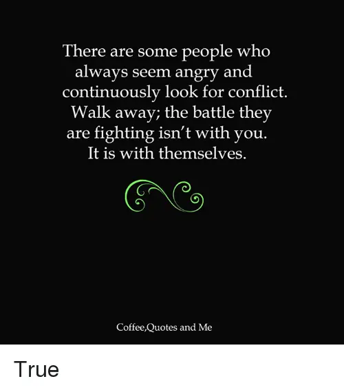 There Are Some People Who Always Seem Angry and Continuously Look ... #angryCoffee