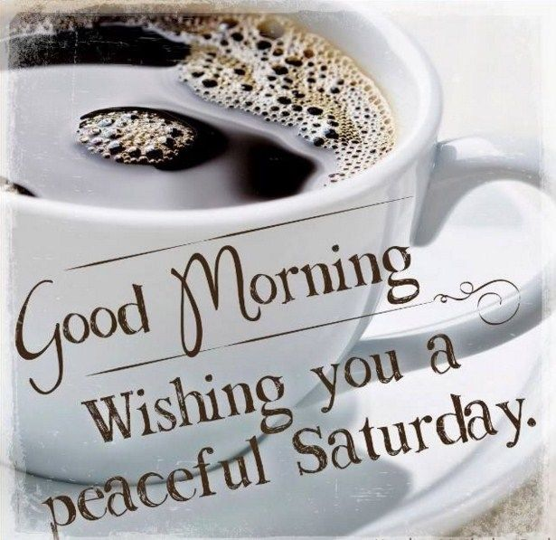 Its time for a peaceful Saturday #saturdayCoffee
