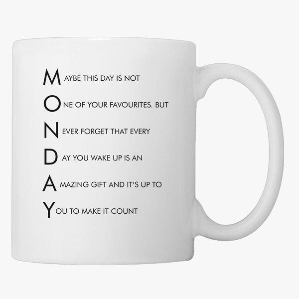 Monday Coffee Mug | Customon.com #mondayCoffee