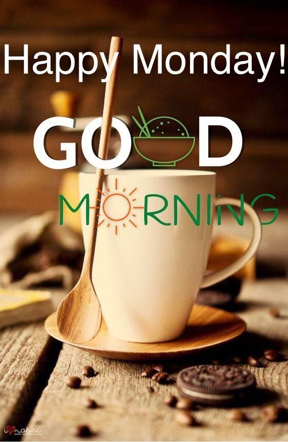Coffee Happy Monday Good Morning monday good morning monday quotes ... #mondayCoffee
