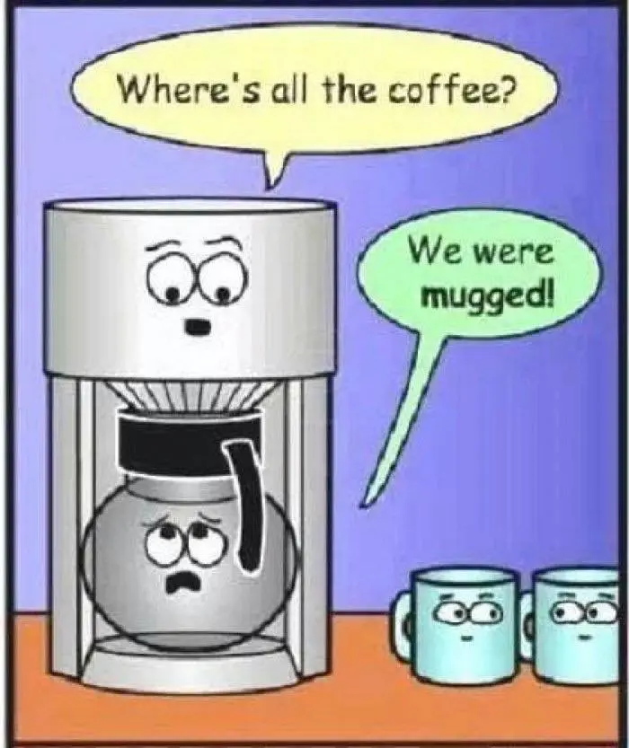 Good morning all – pass us the coffee – UK Cop Humour #goodMorningCoffee