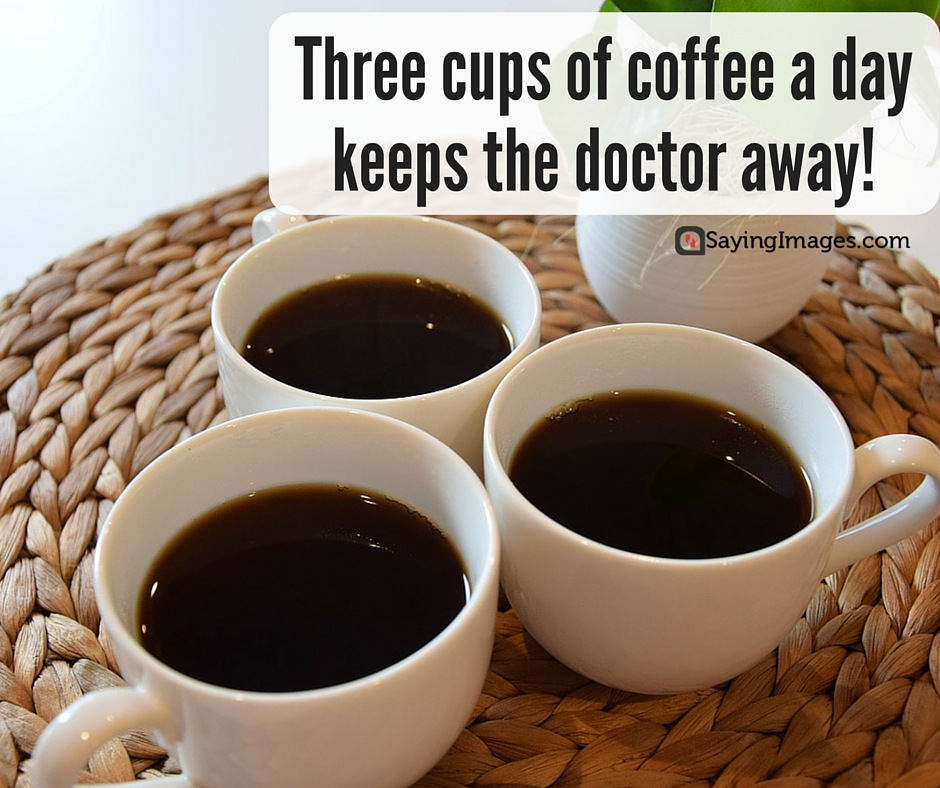 40 Funny Coffee Quotes and Sayings to Wake You Up | SayingImages.com #goodMorningCoffee