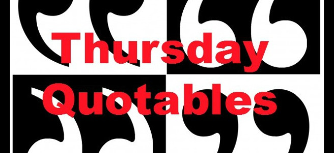 Thursday Quotes & That's What He Said – The Coffeeholic Bookworm #notEnoughCoffee