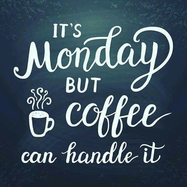 It's always great to start the week with #coffee #mondaycoffee ... #notEnoughCoffee