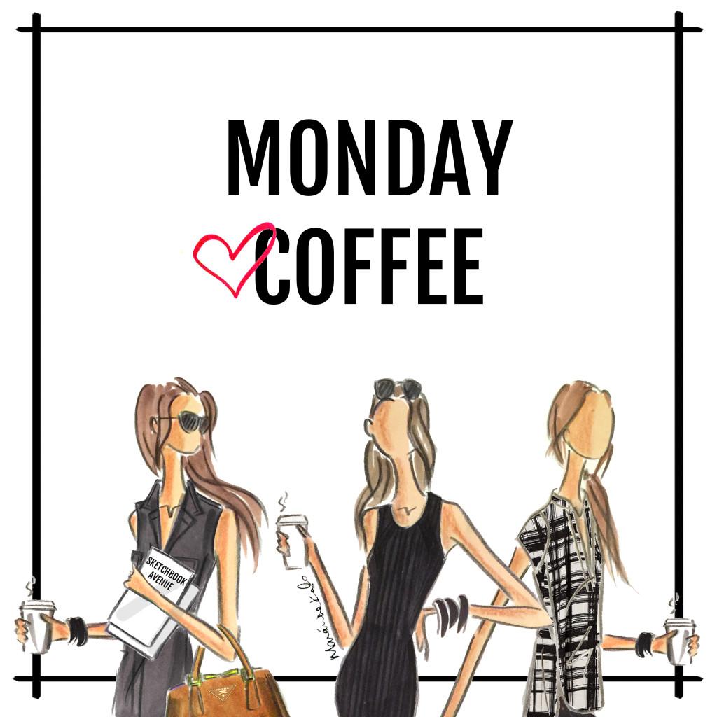 monday coffee - sketchbook avenue #mondayCoffee