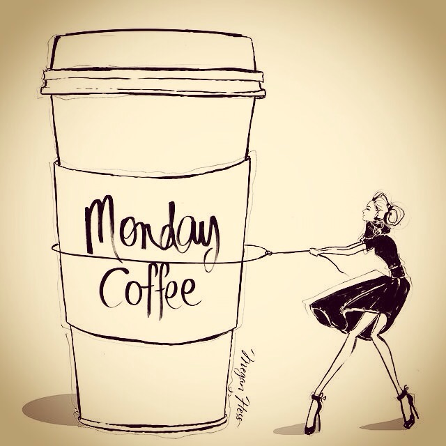 Monday Coffee Quote – My Pink Champagne Life #mondayCoffee