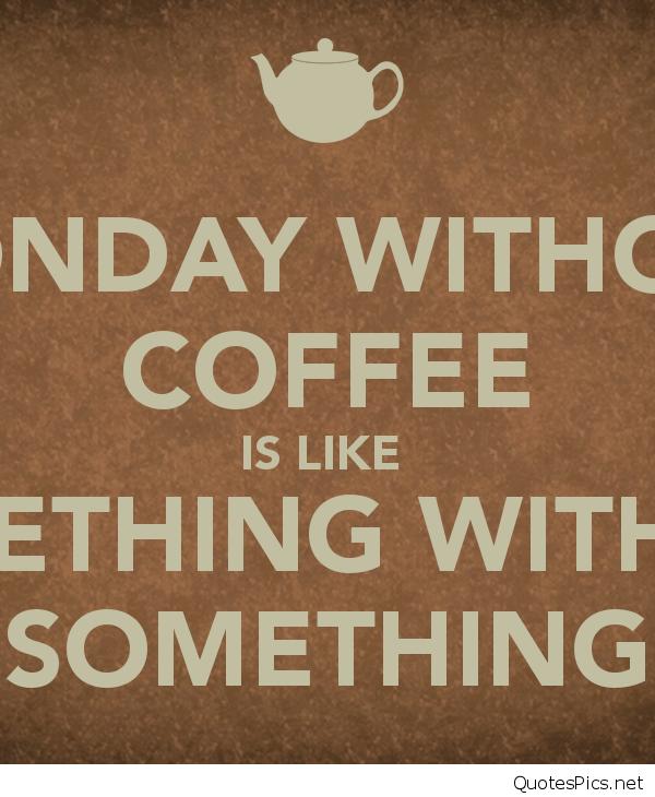 Monday Coffee Images - Coffee Drinker #mondayCoffee