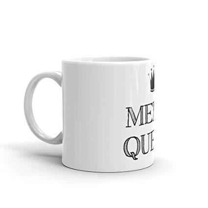 Amazon.com: Meme Queen 11 Oz White Ceramic.11 Oz Ceramic Glossy ... #coffeeLovers