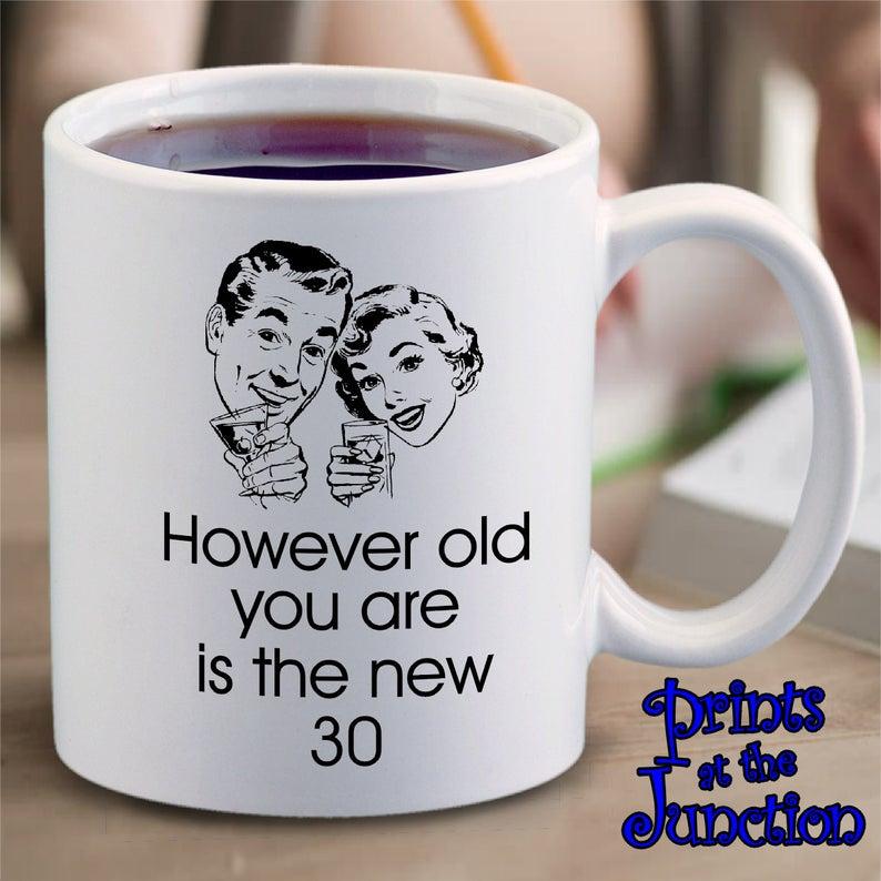 Funny Retro Birthday Mug Gift/Retro Meme Coffee Mug/However | Etsy #coffeeLovers