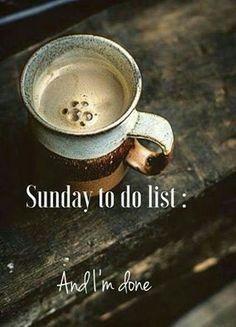 56 Best Coffee Sunday images | Sunday, Coffee lovers, Domingo #sundayCoffee