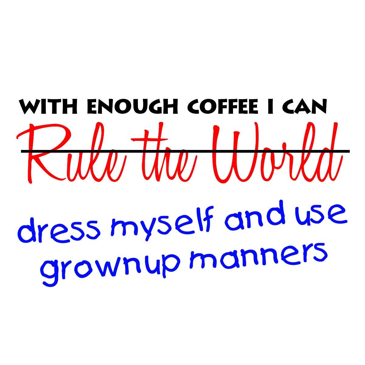 With enough Coffee meme - Novation.TV #notEnoughCoffee
