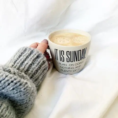 sunday morning coffee shared by Victoria  on We Heart It #sundayCoffee