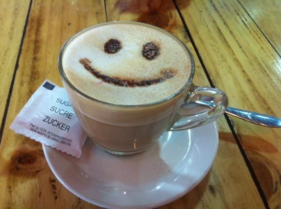 happy coffee! - Picture of Vivenda Kafe, Candolim - TripAdvisor #happyCoffee