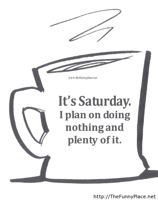 #saturdayCoffee Saturday's are best for coffee.